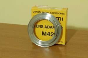 Adattatore M42/Canon EOS