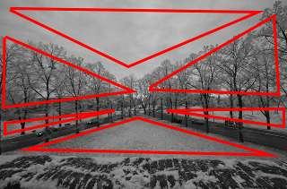 Winter colors - Analisi della composizione