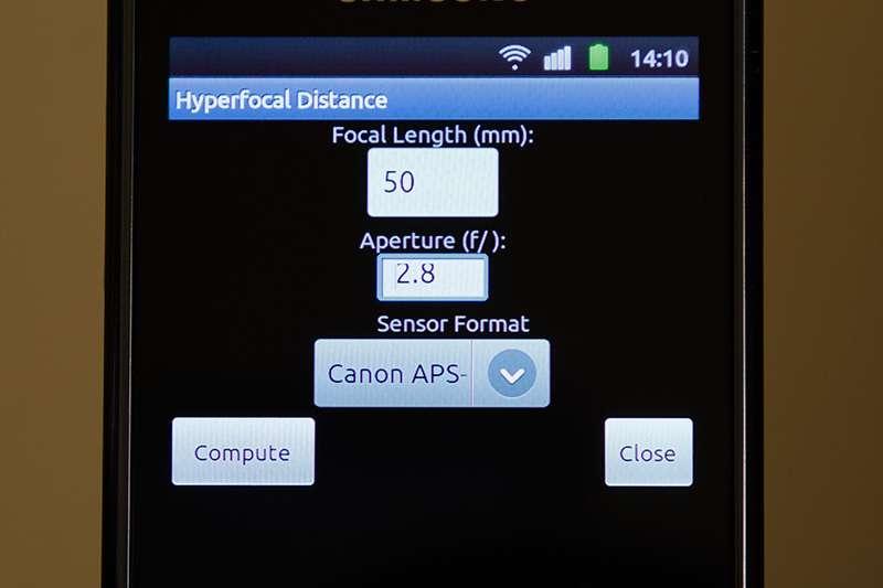 Hyperfocal Distance