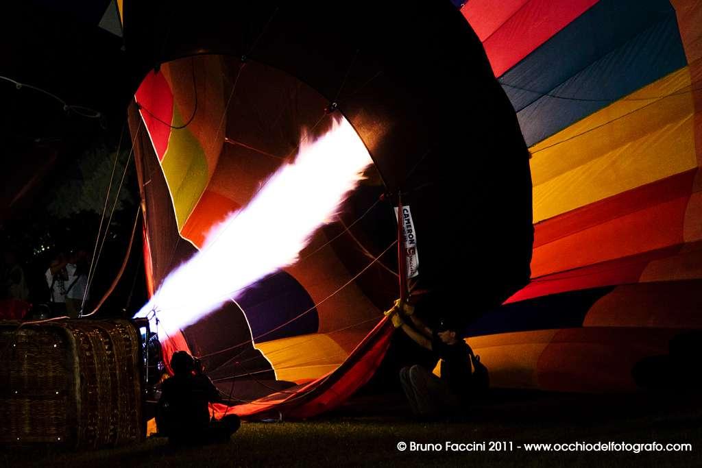 Fotografia notturna - Balloons Festival Ferrara 2011