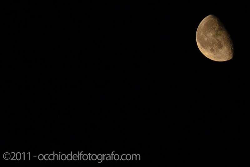 Come fotografare la luna