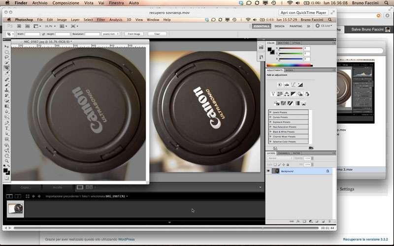 Fotoritocco e archiviazione foto – Video corso di fotografia – Puntata 8