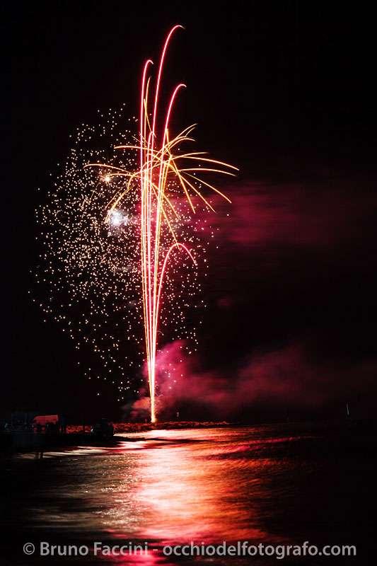 Foto fuochi d'artificio - Bruno Faccini