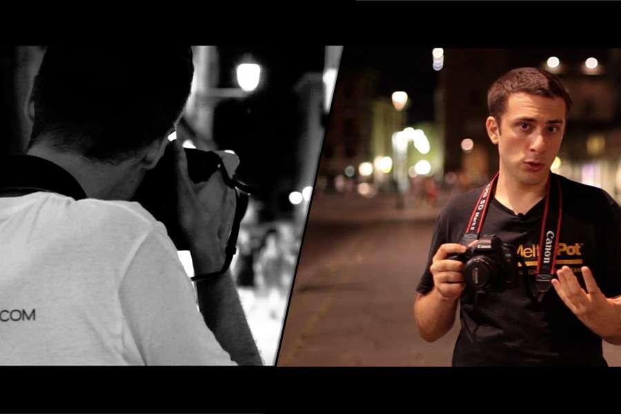 Fotografare di sera - Street Photography