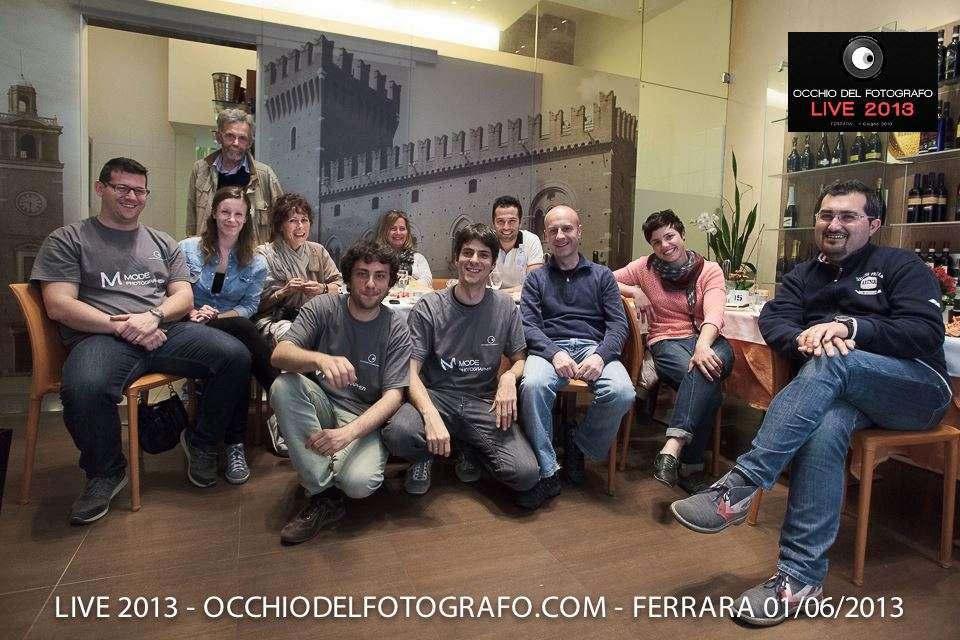 LIVE 2013: diario del workshop con alcune foto della giornata