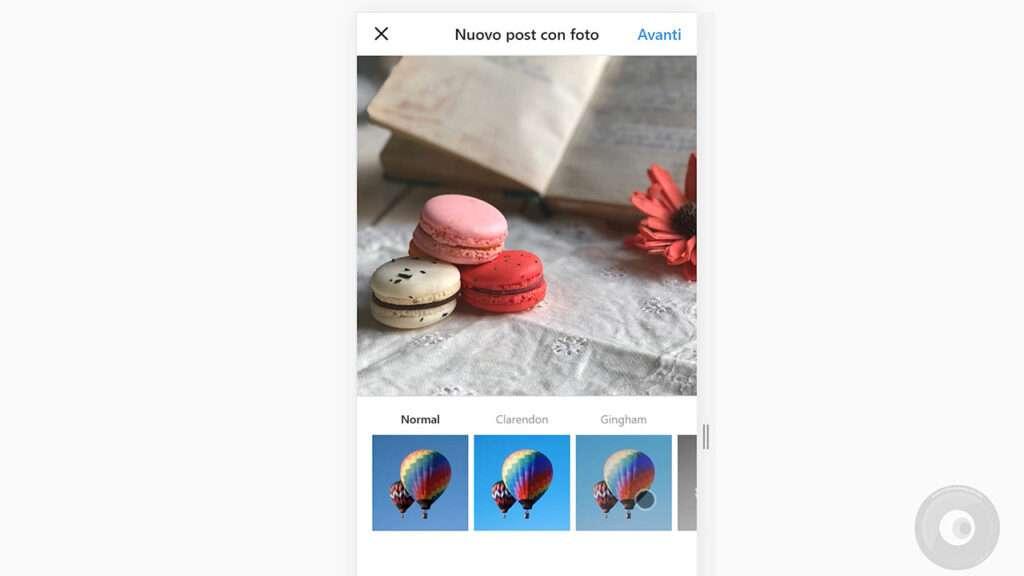 Caricare foto su Instagram da PC