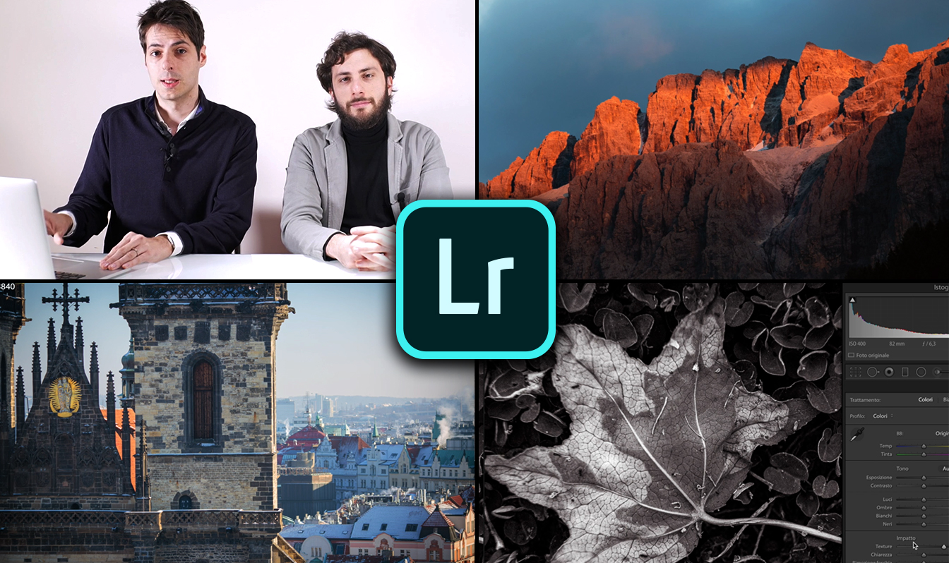 Il Video corso di Lightroom CC 2020 è disponibile solo su CHEESE!