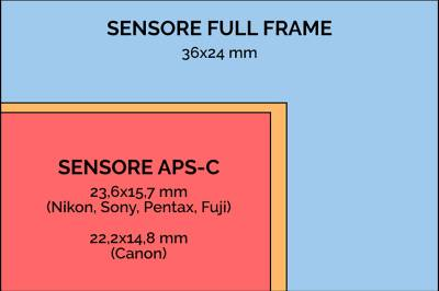 Sensore Full Frame e Sensore APS-C: le differenze